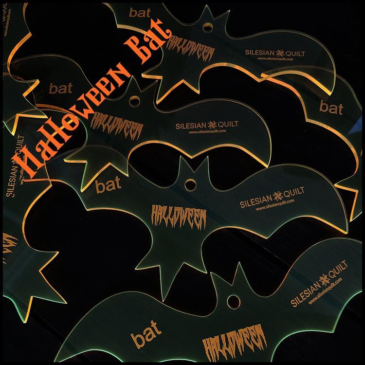 Halloween Fledermaus Applikation