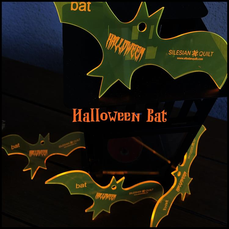 Halloween Fledermaus Applikation