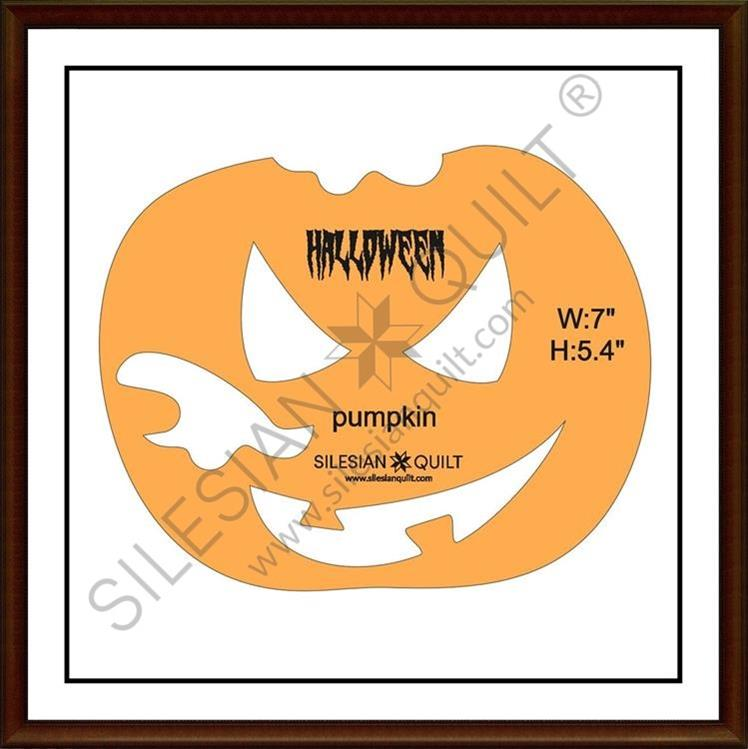Halloween Pumpkin applique