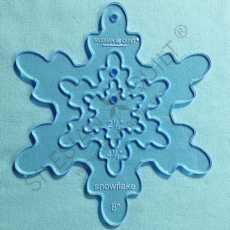 Snowflake v.1 - 8 inches