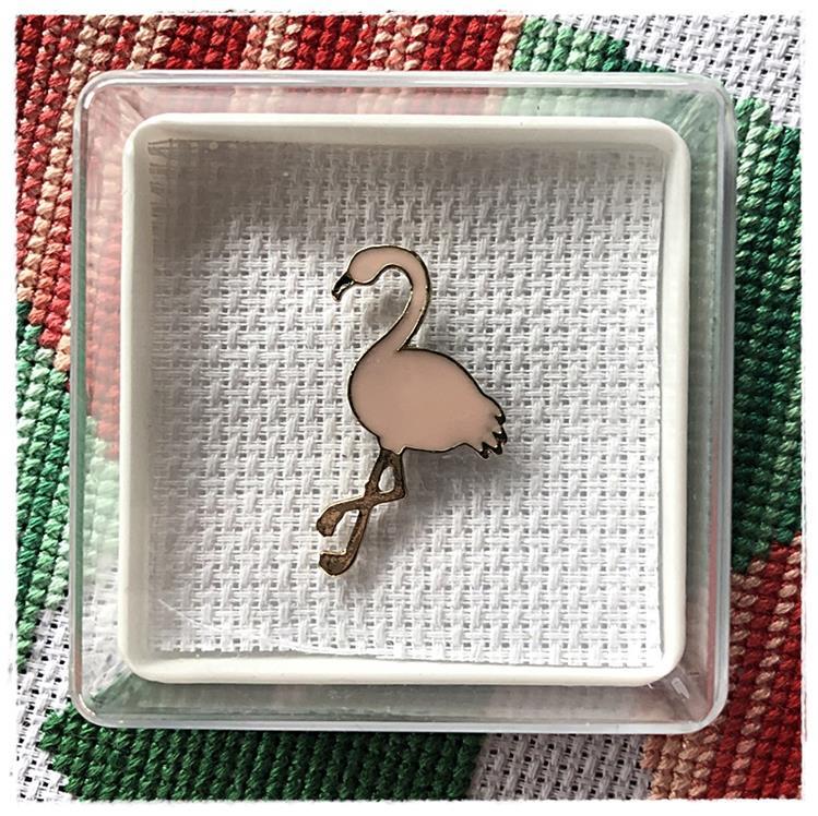 Magnetic Needle Minder Flamingo 2