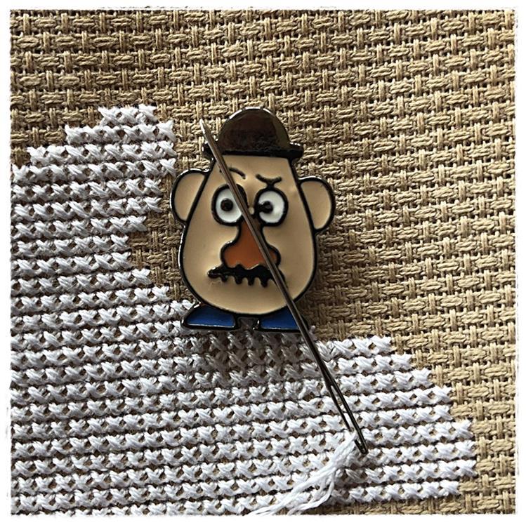 Magnetic Needle Minder Mr Potato
