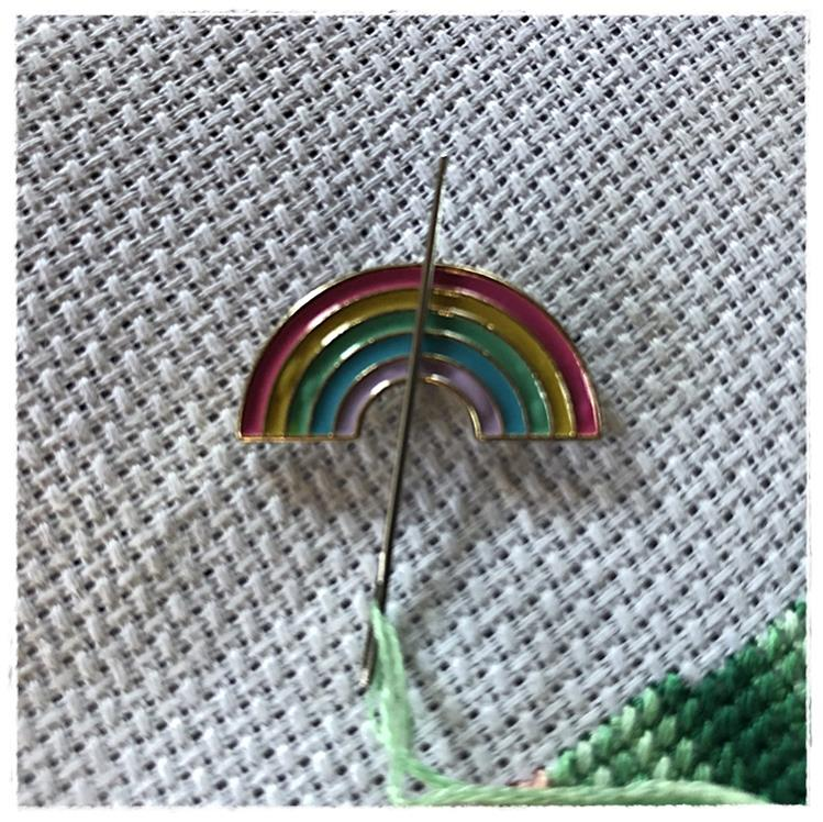 Magnetic Needle Minder Rainbow