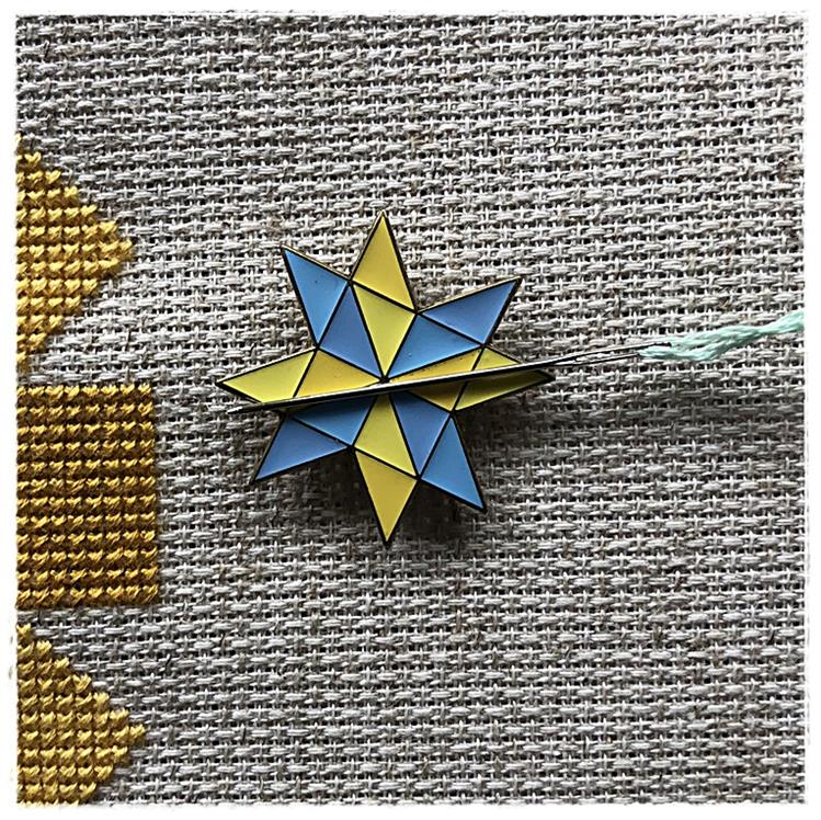 Magnetic Needle Minder Silesian Star