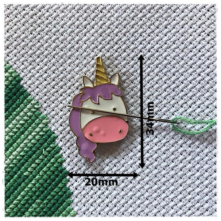 Magnetic Needle Minder Pink Unicorn