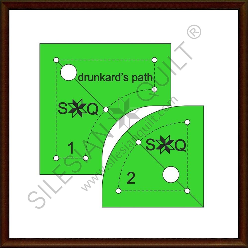 Drunkard's Path for Jelly Roll