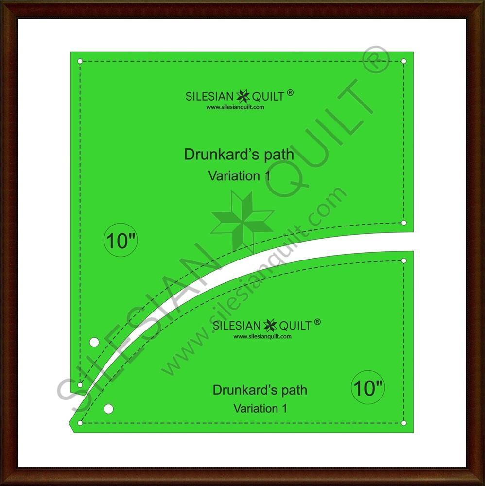 Drunkard's Path V1 - Layer Cake