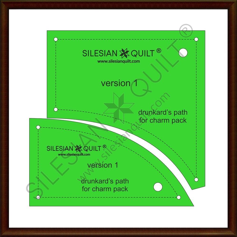 Drunkard's Path V1 - Charm Pack