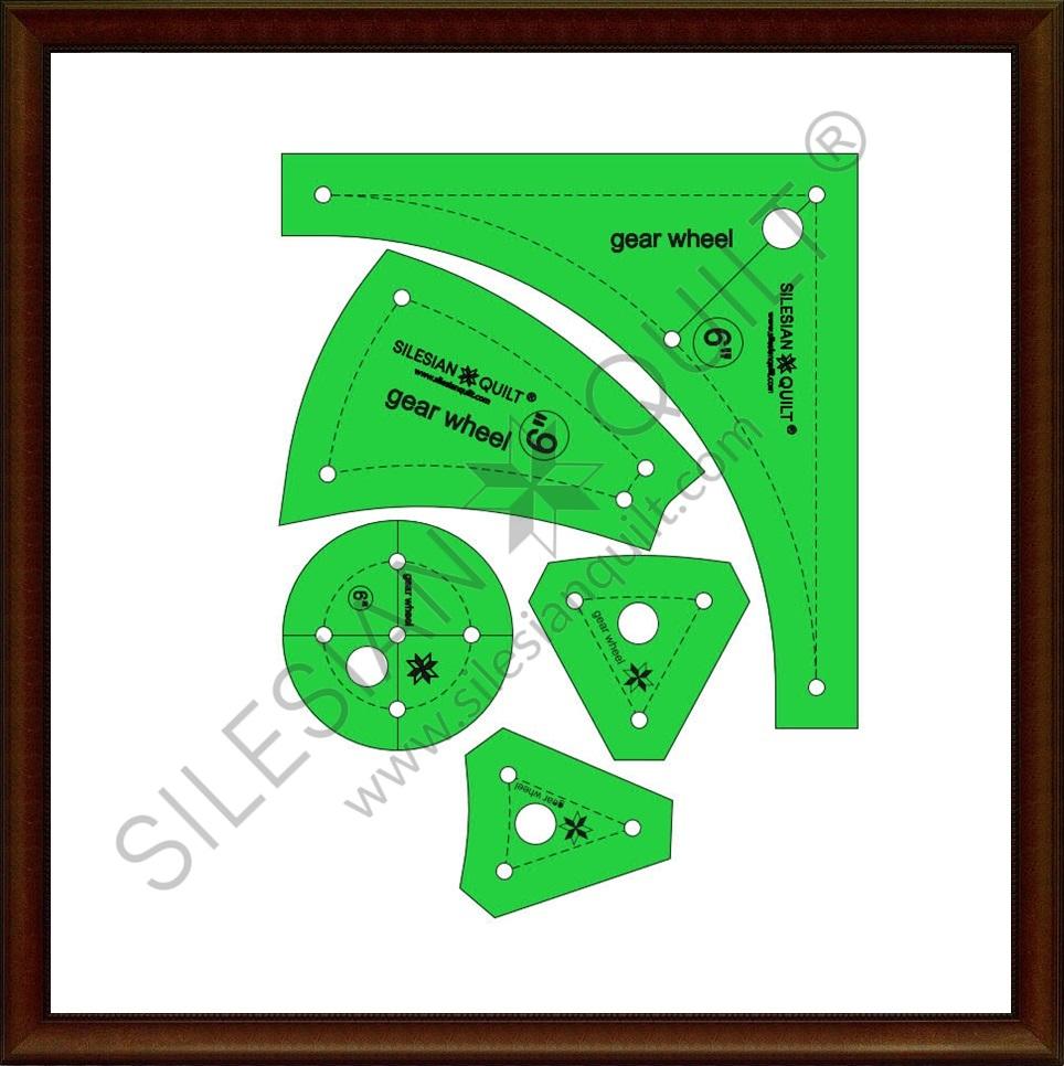 Gear Wheel 6 inches