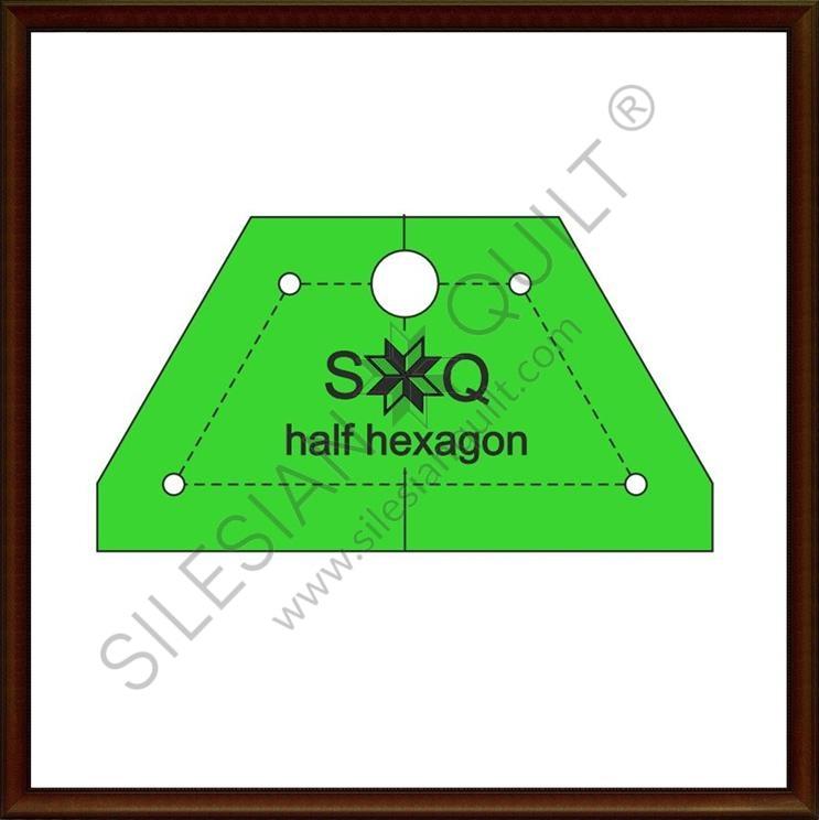 Halfhexagon for Jelly Roll