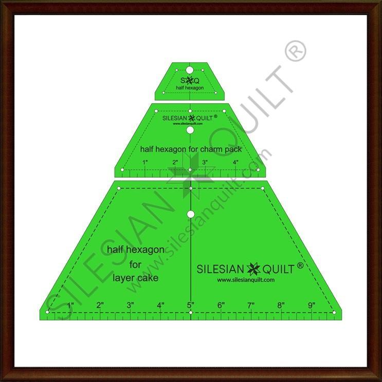 Halfhexagon Set