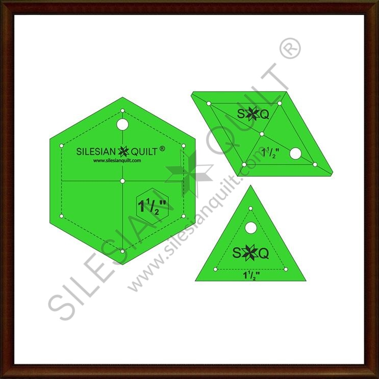 Hexagon Set 1.5 inches