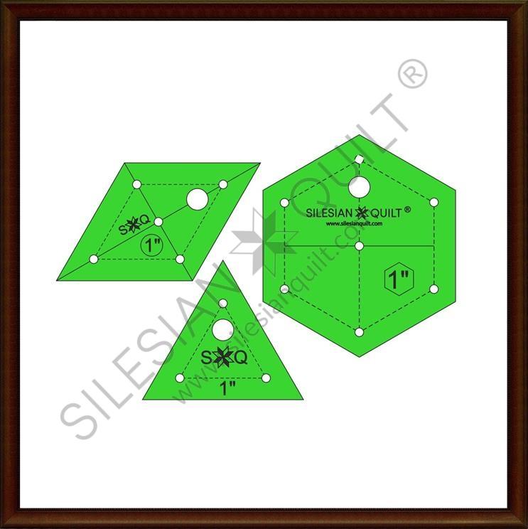 Hexagon Set 1 inch