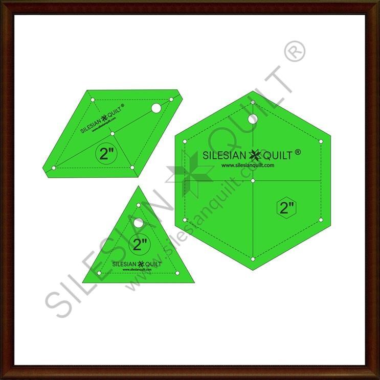 Hexagon Set 2 inches