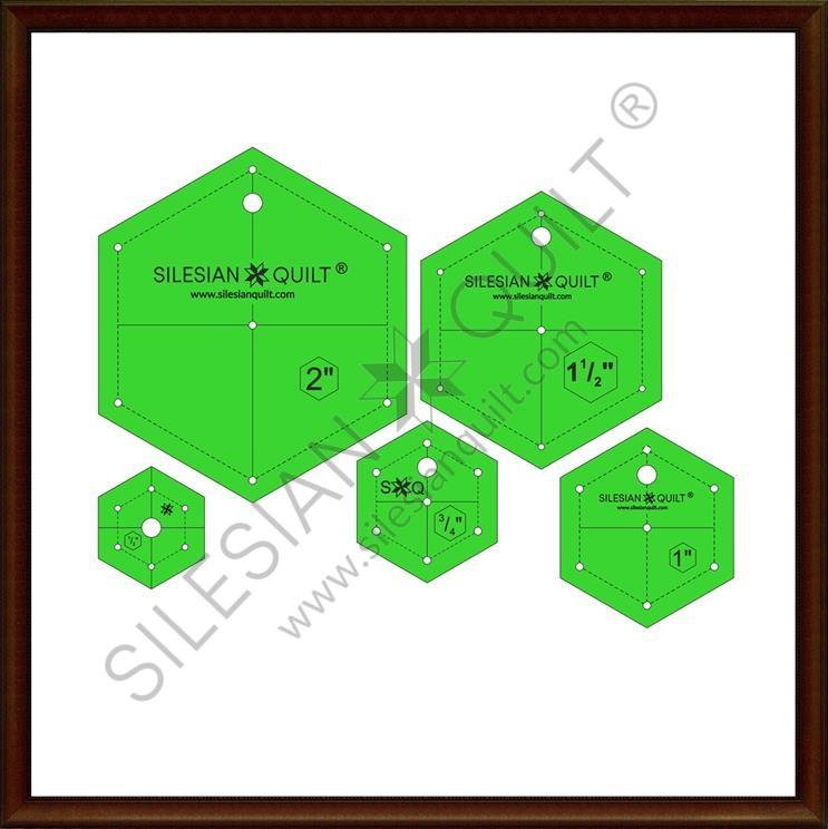 Hexagon set - 5 sizes