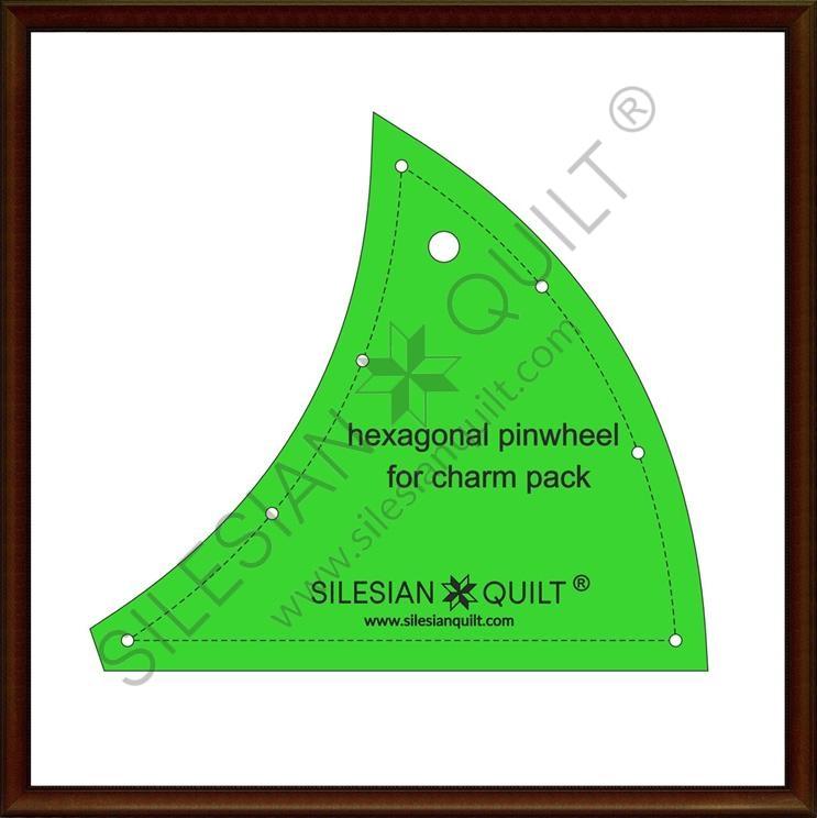 Hexagonal Pinwheel Charm Pack