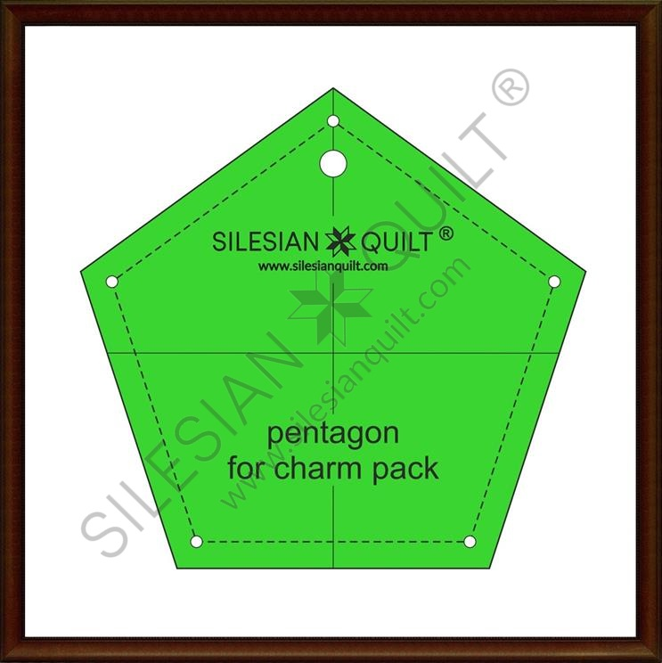 Pentagon for Charm Pack