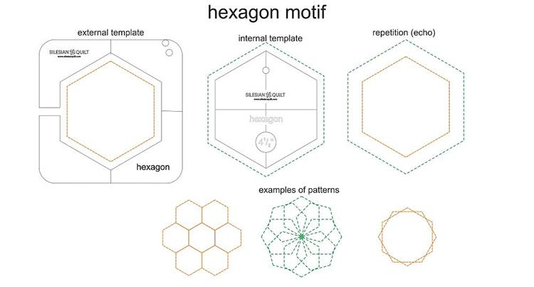 hexagon quilting