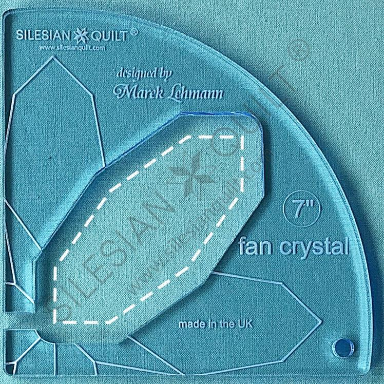 Fan Crystal 7 inches
