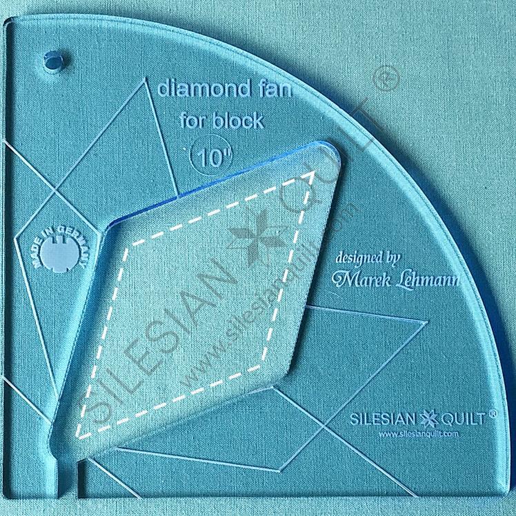 Fan Diamond 10 inches