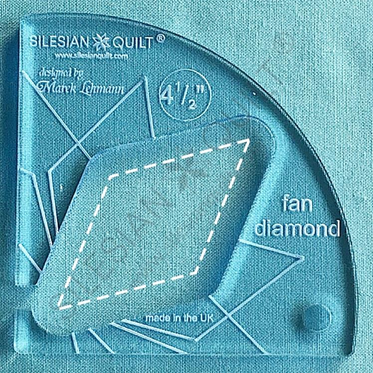 Fan Diamond 4.5 inches