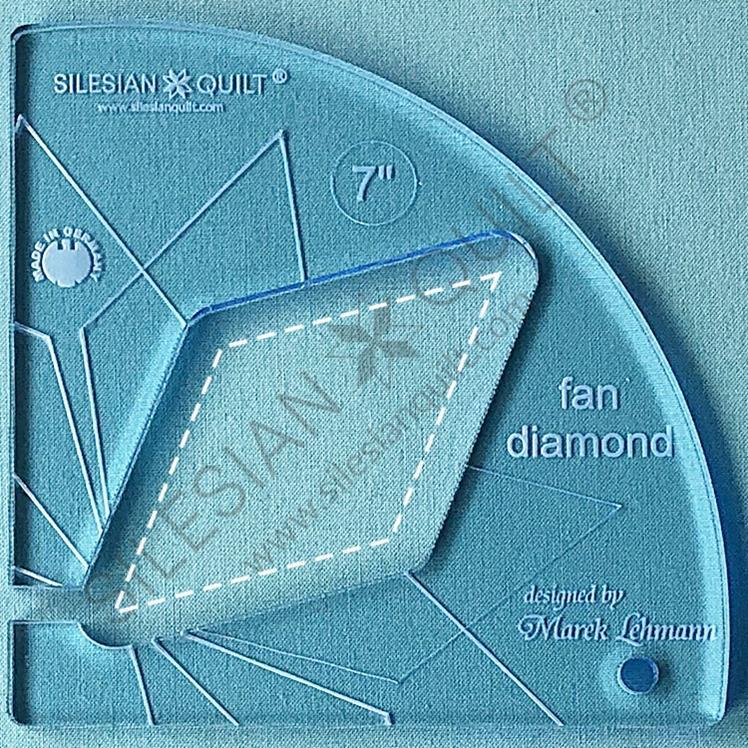 Fan Diamond 7 inches