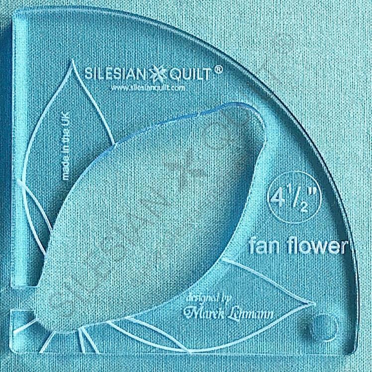 Fan Flower 4.5 inches