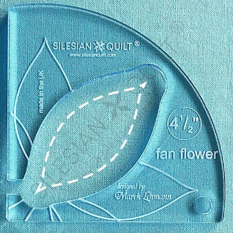 Fan Flower 4.5 inches