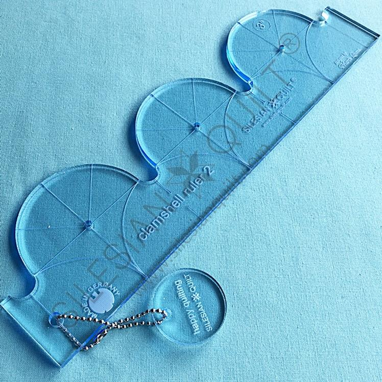 Clamshell Ruler No 2