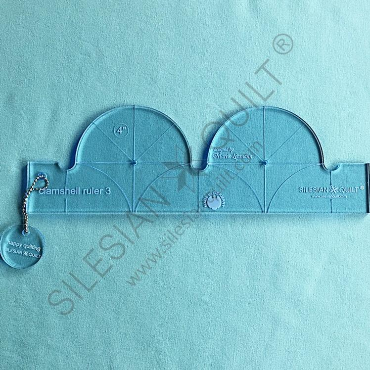 Clamshell Ruler No 3