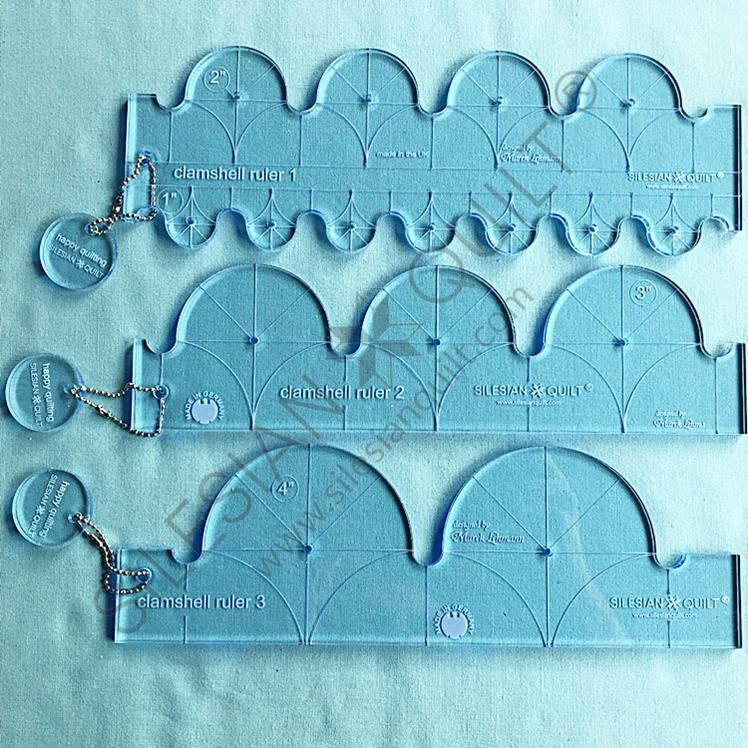 Clamshell Ruler Set