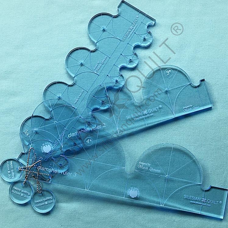 Clamshell Ruler Set