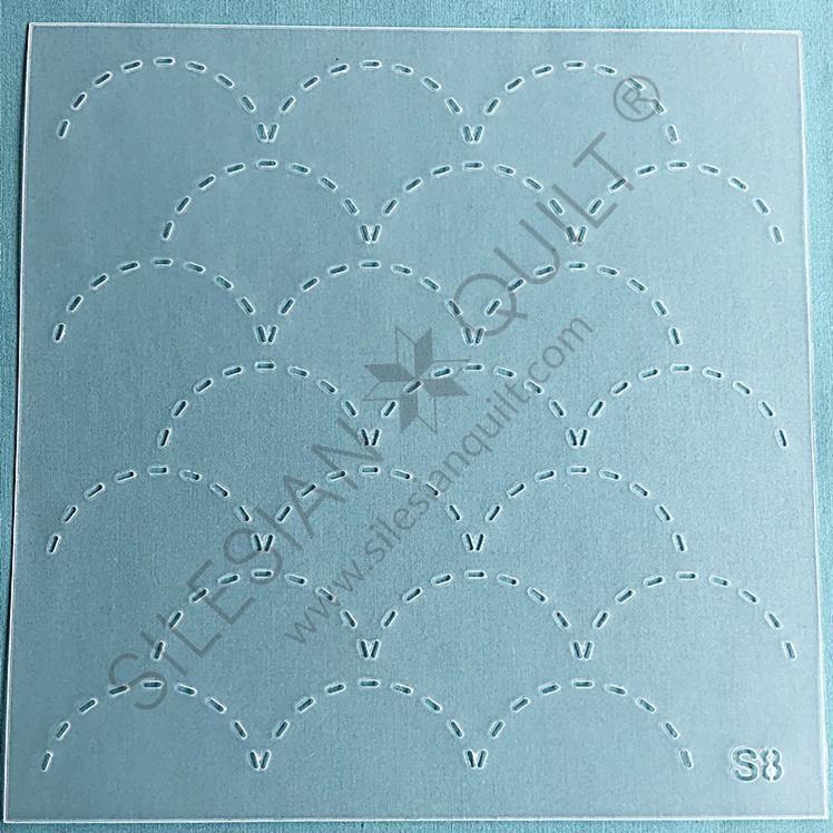 Sashiko Stencil N°08